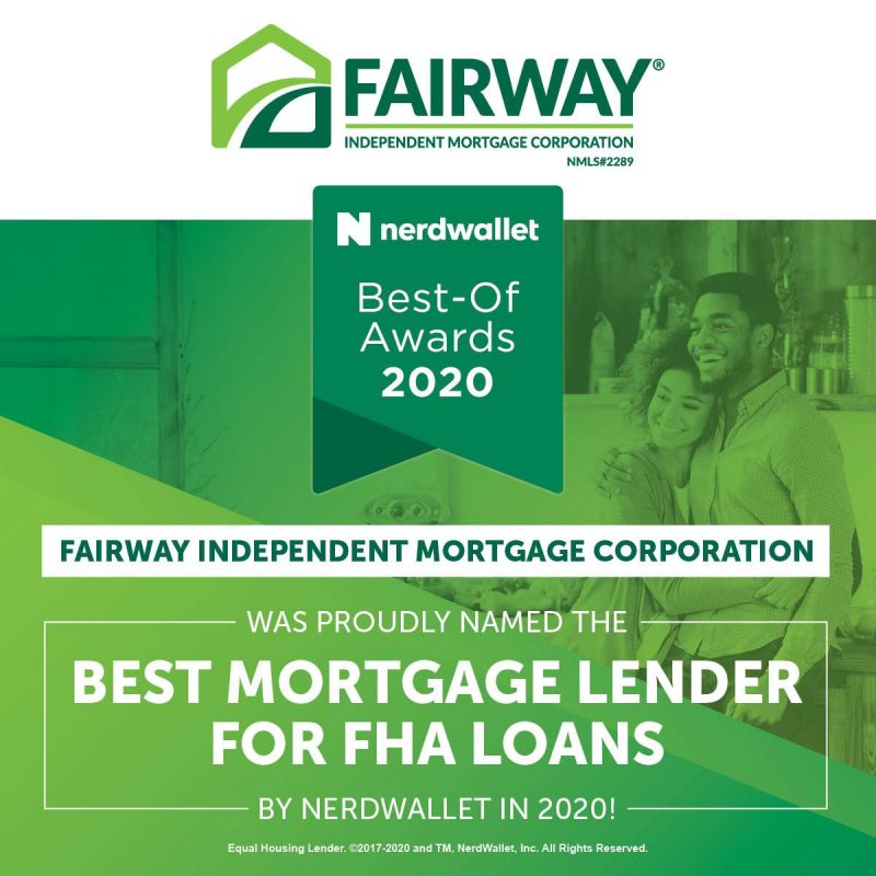NerdWallet Best FHA Lender